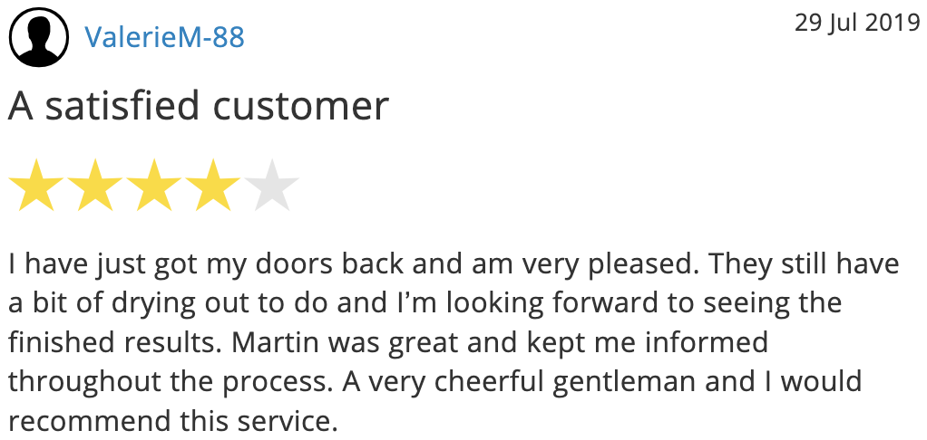 Strip Kwik - another good door stripping review