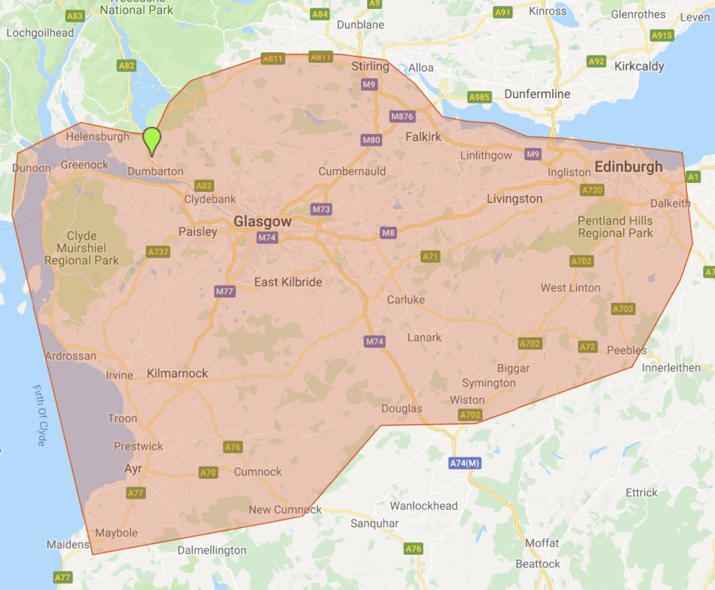 Stripkwik Service Area - Edinburgh
